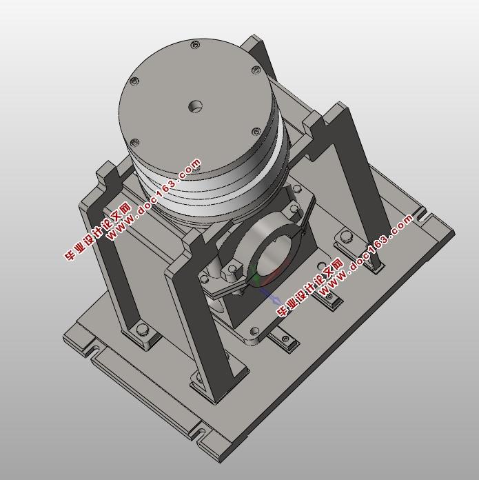 减速器机壳工艺工装设计及三维造型(含cad零件装配图图片