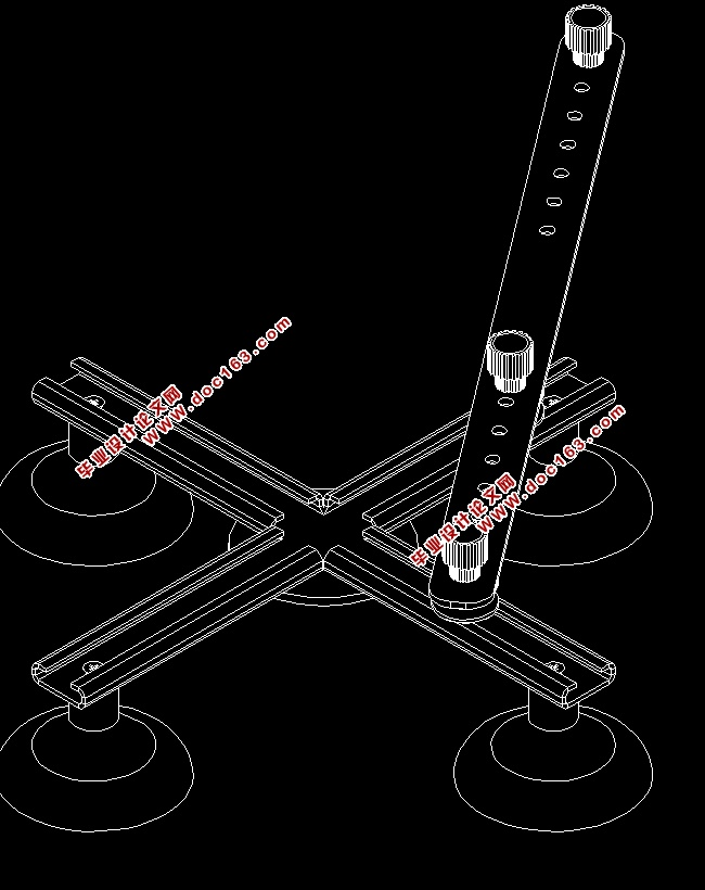 椭圆规的设计与制造(含cad零件装配图,solidworks三维