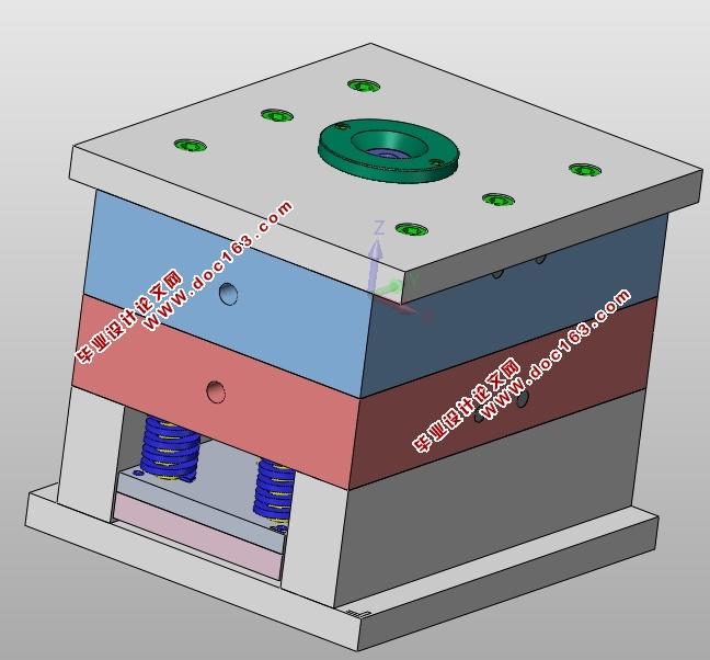 音响外壳注塑模具设计(含cad零件图装配图,ug三维图)