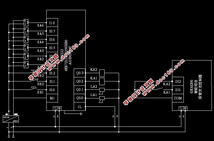 智能住宅防火防盗系统设计(附电路图,PLC程序,西门子S7-200)(论文说明书12000字,CAD电路图,PLC程序) 摘要 随着人们的居住理念的转变,对智能家居的要求越来越高,一些市面上常见的智能家居工艺商,对防火防盗系统的考虑往往不够全面,本课题从这一点展开,基于PLC系统完成智能家居防火防盗控制系统的设计。 首先,对防火防盗系统的控制要求进行分析,对课题的设计步骤进行分析,对使用PLC进行防火防盗系统设计的可行性进行简单论述。对防火系统中所用的烟感探测装置、防盗系统中所用的人体探测装置以及PLC的